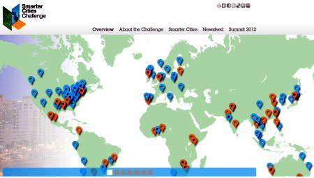 米 IBM、2014年度の Smarter Cities Challenge 対象自治体を発表