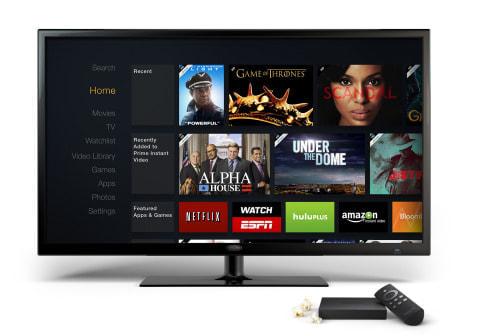 テレビに声で呼びかけて番組を検索、視聴できる Amazon.com「Fire TV」
