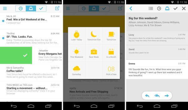 Gmail が便利になるメールアプリ「Mailbox」、ようやく Android 版が公開