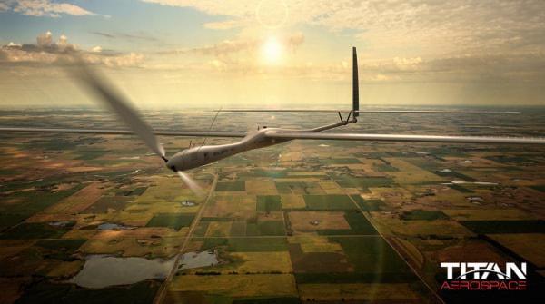Google、ドローン企業「Titan Aerospace」を買収