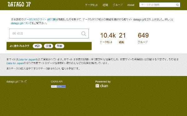 まだ再開できず?休止した日本政府のサイト「DATA.GO.JP」、応急策に民間ミラーサイト