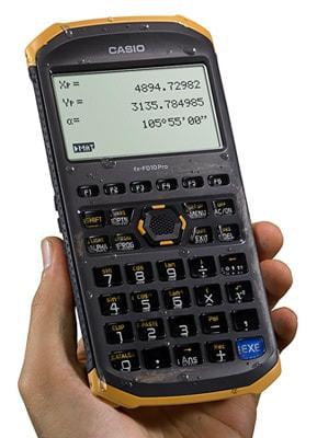 """カシオ、屋外現場で使えるタフな土木測量""""専業""""電卓「fx-FD10Pro」"""