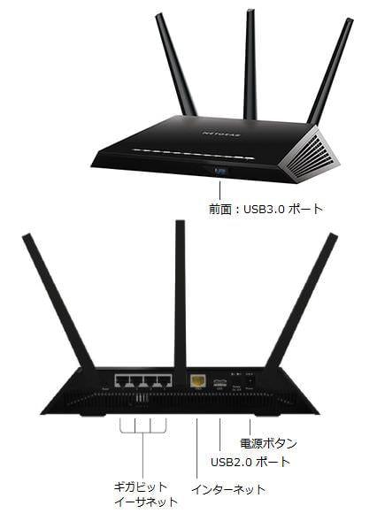 ネットギア、802.11ac 対応デュアルバンド ワイヤレスルータを発売