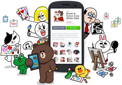 自作スタンプを販売できる「LINE Creators Market」、登録受付スタート