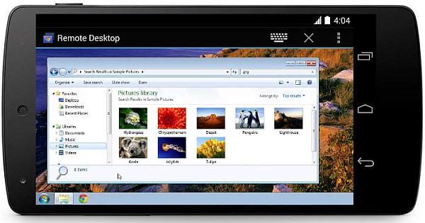 Android 端末から自宅 PC の遠隔操作を可能にする「Chrome Remote Desktop」