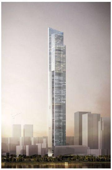 分速1,200m の超高速エレベーター、日立が中国 広州の最高層ビルに