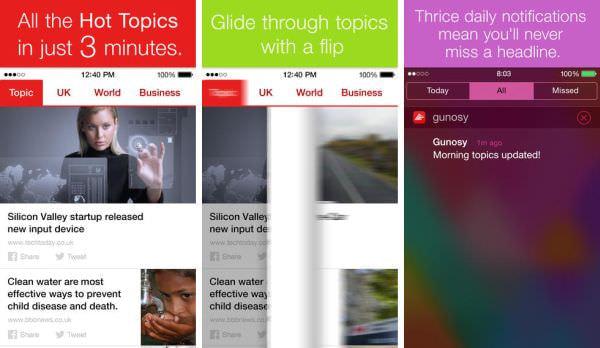 ニュースアプリ「Gunosy」海外版を公開、英国向け
