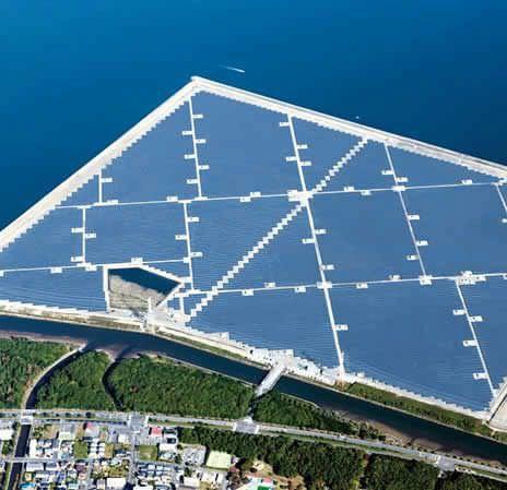 日立一括受注の、国内最大規模メガソーラー発電所「大分ソーラーパワー」が竣工