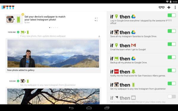 「電話を逃したらメールを返す」などスマホの操作を自動化する「IFTTT」、Android 版が登場