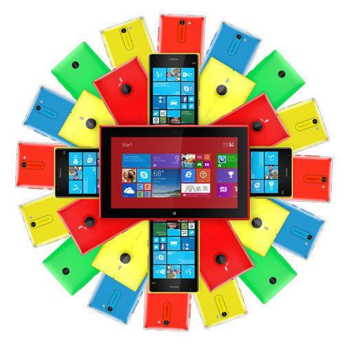 Nokia スマホが Microsoft から