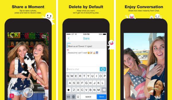 Snapchat、写真なしでチャットできる新機能、ビデオ通話にも対応--どちらもすぐ消せる