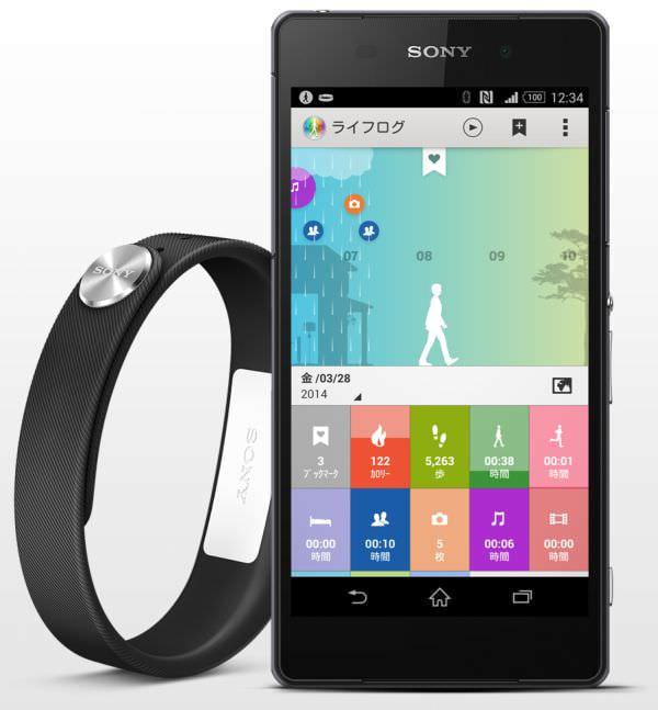 ソニーモバイルがリストバンド型スマートウェア「SmartBand SWR10」発売へ、ライフログ/ライフブックマークに