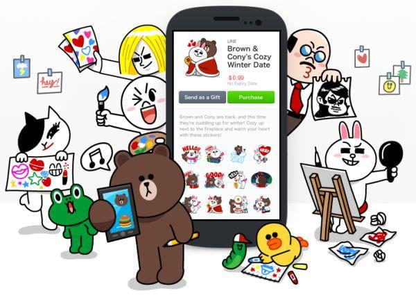 LINE、「LINE Creators Market」で「クリエイターズスタンプ」の販売を開始