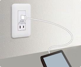 パナソニックが USB コンセントを発売