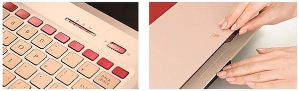 クラッチバッグ形状の開口部など、細部のデザインにもこだわる