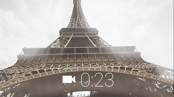5メガピクセルの写真と720p のビデオを撮影可能なカメラを搭載