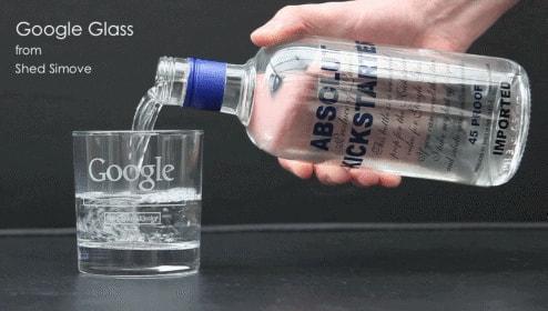 Google Glass には水はもちろん