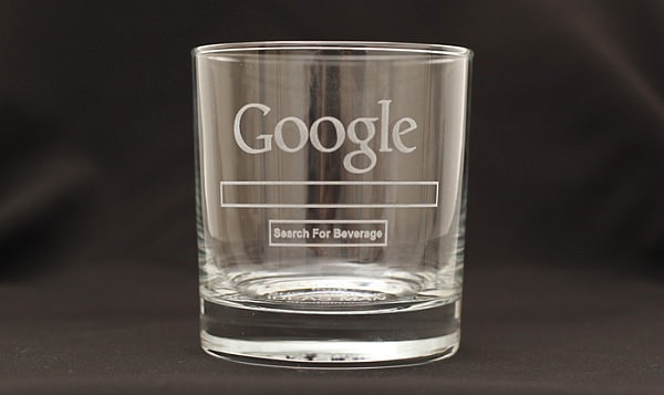 Google Glass の「Search For Beverage」バージョン