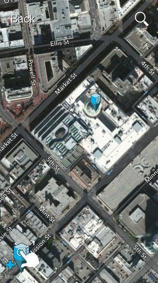 建物の位置を把握