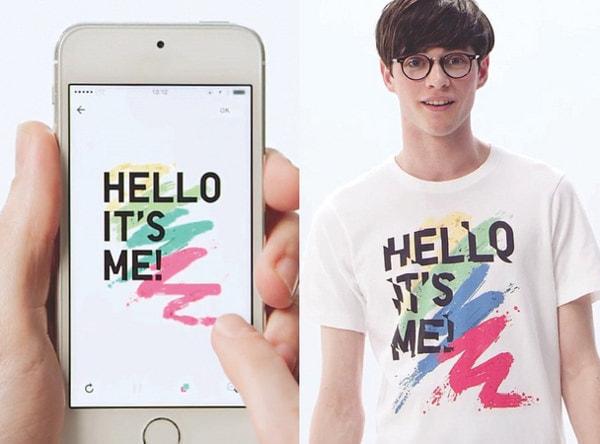 ユニクロ、オリジナルのTシャツを作成、購入できるアプリ「UTme!」、1着1,990円