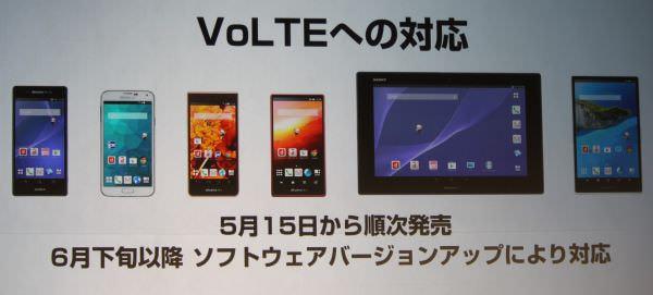 ドコモ「2014夏モデル」、国内初「VoLTE」対応スマホ/タブレットなど
