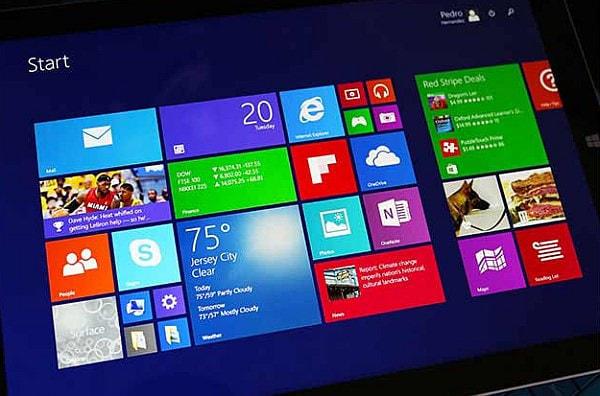10. フルバージョンの Windows が稼働する
