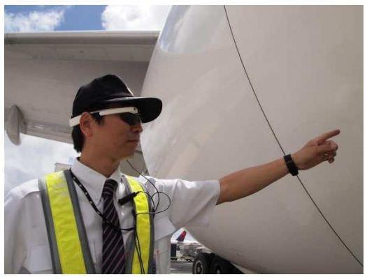 JAL と NRI、「Google Glass」飛行機の整備に活用、先進的な業務スタイルを追求