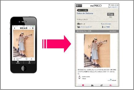 ファッションコーディネイトアプリ「WEAR」と連携