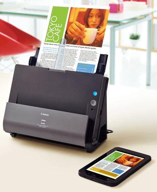 キヤノン、スマホ Wi-Fi スキャン可能なデスクトップ型や両面/ADF 対応モバイル型など家庭向けスキャナを発表
