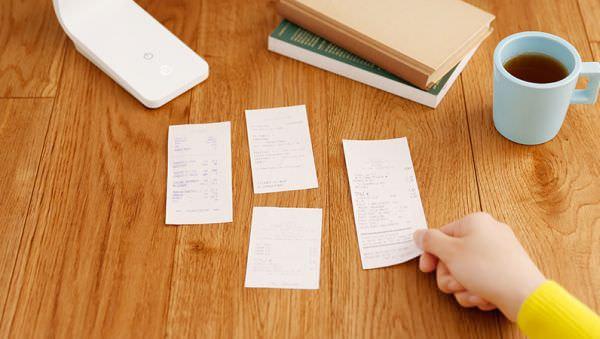 複数の紙を一括スキャンすることも可能 (出典:PFU)