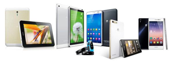 ファーウェイが投入予定の SIM ロックフリー製品