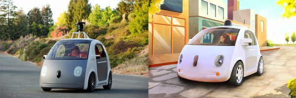 米 Google がハンドルもブレーキもない、自律走行する車のプロトタイプを発表
