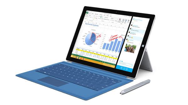 MS の12型タブレット「Surface Pro 3」、日本では9万1,800円から、7月17日より順次発売