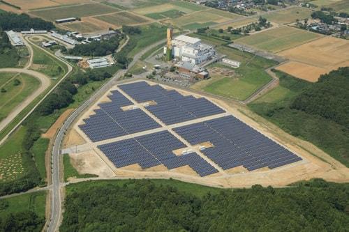太陽光発電事業用サイトの「F 牛久太陽光発電所」が竣工