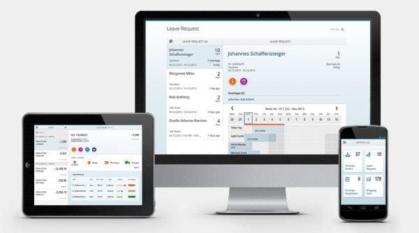 最新 UX SAP Fiori、SAP ソフトウェアに同梱