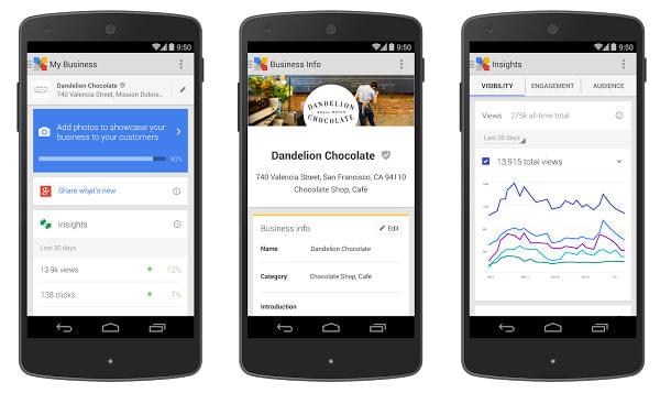 店舗の情報登録、最新の話題の投稿、アクセス解析までこなすアプリ