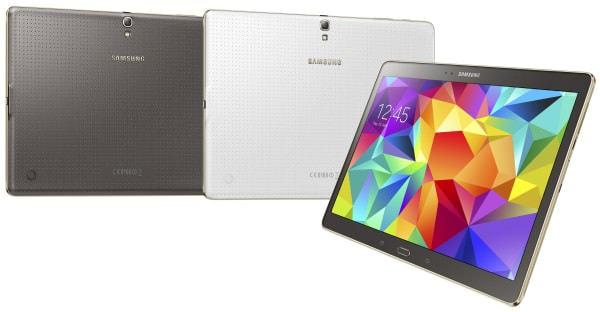 Samsung が WQXGA 表示の有機 EL タブレット「Galaxy Tab S」発表、10.5インチと8.4インチ