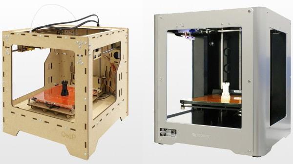 出力に使う 3D プリンタ