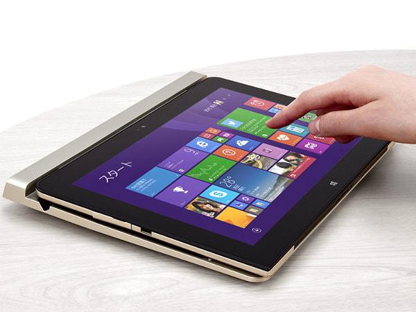 NEC、10.1型フル HD 超え Windows タブレット「LaVie Tab W」、キーボードと筆圧感知ペン付き