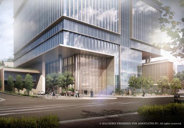 ヤフー、「赤プリ」跡地に本社を移転、新ビルの「メインテナント」に