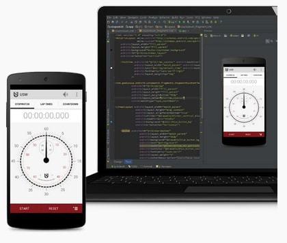 Android Studio ベータ版 (出典:Google)