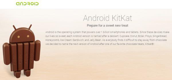 Android 4.4 KitKat (出典:Google)