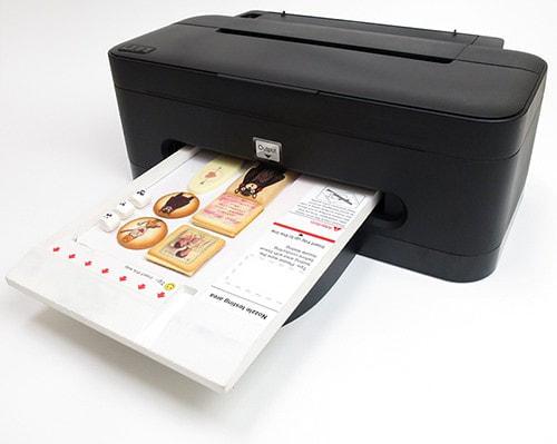 食品に絵や文字を印刷できるフードプリンタ「TP-101E」発売、もちろん食べられます