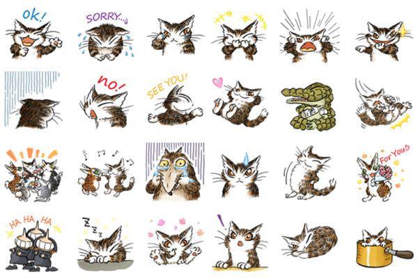 ウサギの「マーシィ」、ワニの「イワン」、「3人の魔女」も (C)AKIKO IKEDA/Team Dayan