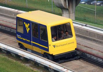 第1世代 PRT の例 出典:West Virginia University