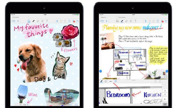 iPad から PDF に手書きできる「Note Anytime」--200円に値引き、音声メモも可能に