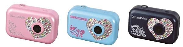"""小学生だって""""美白""""したい--女子小学生専用デジタルカメラ「デコラパレット」発売"""