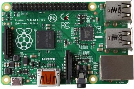 USB ポートが増設されたニューモデル「Raspberry Pi Model B+」