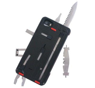 これだけあれば必ず役立つ!? 22種類の工具を内蔵した iPhone 5/5s 用ケース「TaskOneG3」