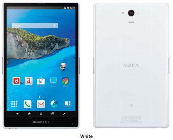ドコモ、タブレット「AQUOS PAD SH-06F」の VoLTE 対応アップデートを明日公開